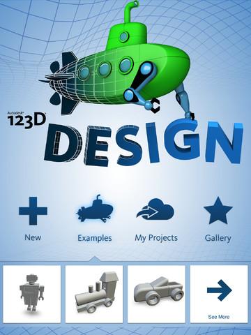iPadでカンタン3Dモデリング! Autodesk、iPad用3Dモデリングアプリ「123D Design」をリリース1