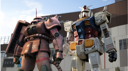 ガンダムとシャアザクとの2ショット写真を撮ろう! 位置ゲー「ガンダムエリアウォーズ」がガンダムフロント東京とコラボ!