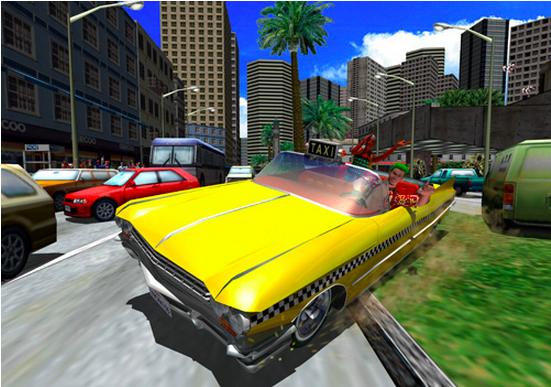 スマホでも爆走! セガネットワークス、iOS向けドライブアクションゲーム「Crazy Taxi」をリリース1