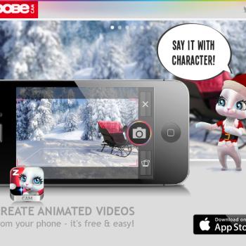メッセージングアプリの新しい形? ボイスメッセージに写真と3Dアバターを添付できる「Zoobe Cam」