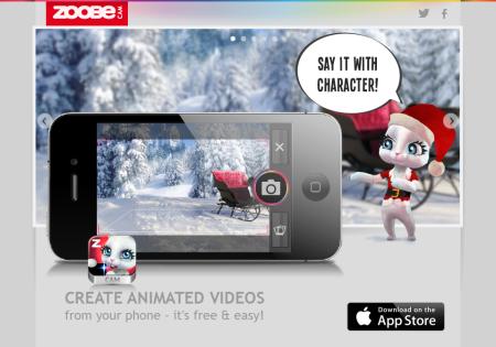 メッセージングアプリの新しい形? ボイスメッセージに写真と3Dアバターを添付できる「Zoobe Cam」1