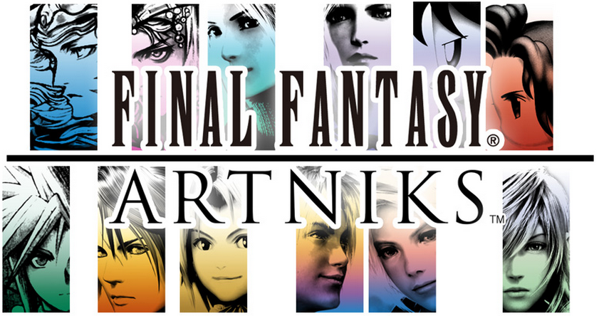 スクエニとGREE、「ファイナルファンタジー」シリーズの新作ソーシャルゲーム「FINAL FANTASY ARTNIKS」を提供開始1