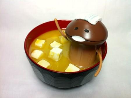 「なめこの味噌汁」がなめこ公式サイト「なめぱら」で紹介されました