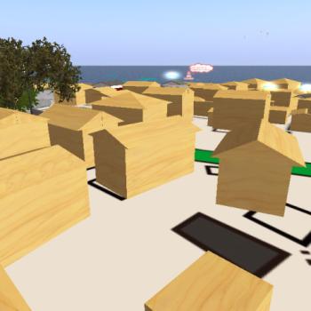 Second Lifeで空き家を活用するアイデアを集めよう! 仮想空間上のまちづくりプラットフォーム「virtual plat city」神明町ver.がオープン!
