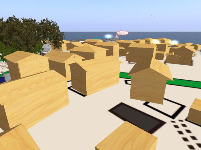 Second Lifeで空き家を活用するアイデアを集めよう! 仮想空間上のまちづくりプラットフォーム「virtual plat city」神明町ver.がオープン!1