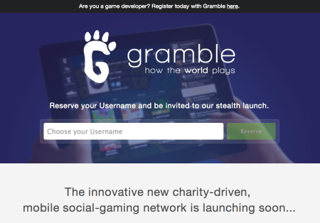 ソーシャルゲームで社会貢献! チャリティ専門ソーシャルゲームプラットフォーム「Gramble」が12/20にオープン