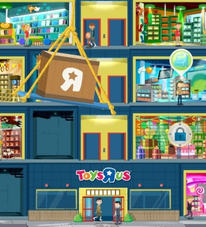 """ソーシャルゲームをプレイしてクーポン券もGET! Facebookにてトイザらス公認の店舗経営ゲーム「Toys""""R""""Us Towers」登場1"""
