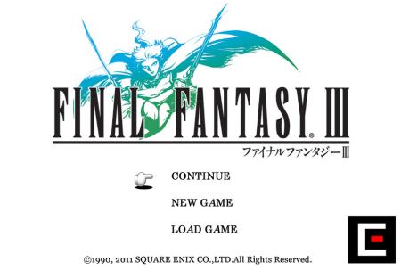 KindleでFFをプレイ! スクエニ、Kindle Fire版「ファイナルファンタジーIII」をリリース1
