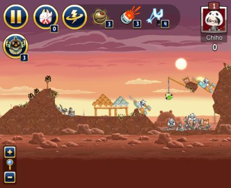 Rovio、「Angry Birds Star Wars」のFacebook版をオープン2
