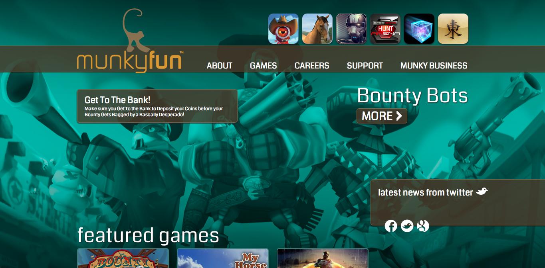 GREE、米スマホ向けゲームディベロッパーのMunkyFunに300万ドル投資