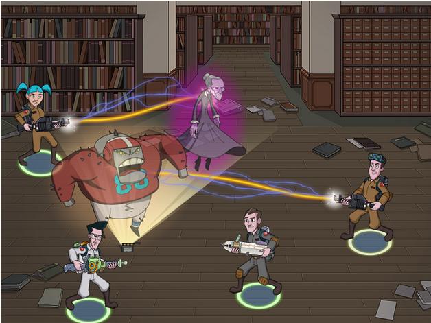 ビーライン、映画「ゴーストバスターズ」をソーシャルゲーム化 2013年初頭に配信決定