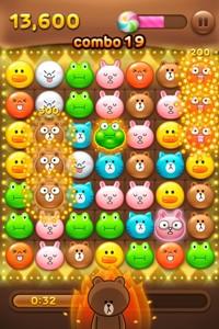 LINE対応のパズルゲーム「LINE POP」、リリースから12日で1000万ダウンロード突破! 日本を含む世界11地域のApp Store無料総合ランキングで1位を獲得