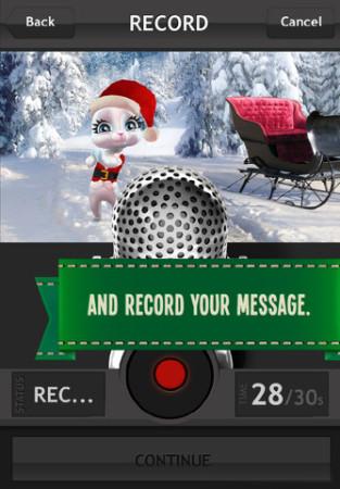 メッセージングアプリの新しい形? ボイスメッセージに写真と3Dアバターを添付できる「Zoobe Cam」2