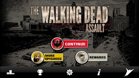 人気ゾンビドラマ「ウォーキング・デッド」のiOS向けゲームアプリ「The Walking Dead: Assault」リリース!1