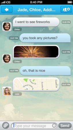 GREE、スマホ向けメッセージングアプリ「GREE messenger」をテスト中?3