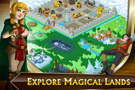 GREE International、iOS向け新作ゲームアプリ「Knights & Dragons: Rise of the Dark Prince」をリリース2