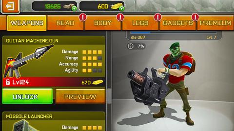 Zynga、iOS向け3Dシューティングゲームアプリ「Respawnables」をリリース2