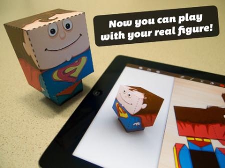 オリジナルのペーパークラフトの型紙が作れるiPadアプリ「Foldify」5