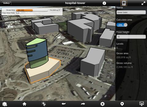 Autodesk、Google Mapとの連動機能もあるiPad向け3Dデザインアプリ「Autodesk FormIt」をリリース1