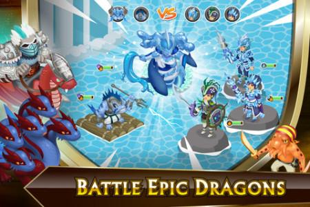 GREE International、iOS向け新作ゲームアプリ「Knights & Dragons: Rise of the Dark Prince」をリリース3