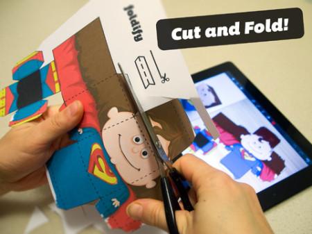 オリジナルのペーパークラフトの型紙が作れるiPadアプリ「Foldify」4