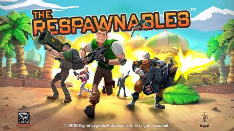 Zynga、iOS向け3Dシューティングゲームアプリ「Respawnables」をリリース1