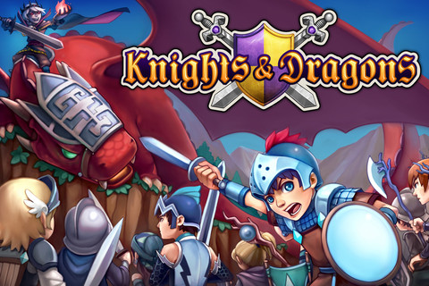 GREE International、iOS向け新作ゲームアプリ「Knights & Dragons: Rise of the Dark Prince」をリリース1