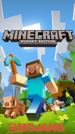 「Minecraft」のスマホ版「Minecraft – Pocket Edition」、500万ダウンロードを突破!