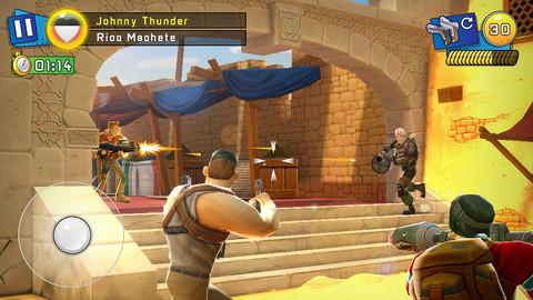 Zynga、iOS向け3Dシューティングゲームアプリ「Respawnables」をリリース3
