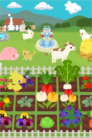 スクエニ、GREEにてソーシャル農園ゲーム「チョコボのチョコッと農園」を提供開始2