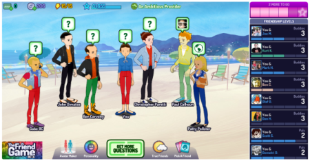 Zynga、PC向け新作ソーシャルゲーム「The Friend Game」をクローズドβテスト中2