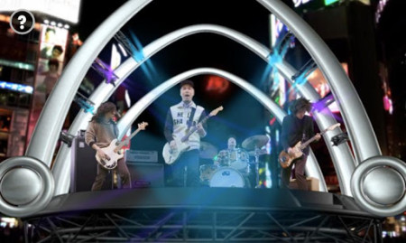 ソニー、ポスターにスマホをかざすとライブが始まるAR音楽フェス「Headphone Music Festival」を実施3