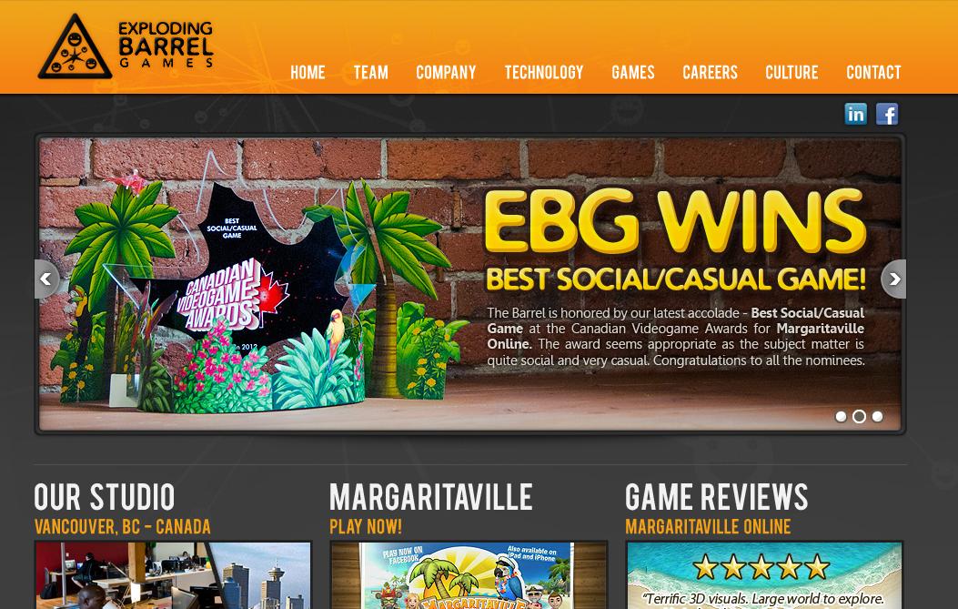 米ソーシャルゲームディベロッパーのKabam、カナダのExploding Barrel Gamesを買収