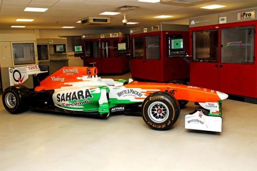 F1チームのサハラ・フォース・インディア、3Dプリンタメーカーの3D Systemと技術提携