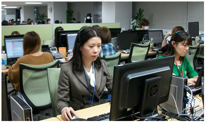 DeNA、Mobageにおけるユーザー向け電話問い合わせ対応を強化 電話対応スタッフを20名に増員