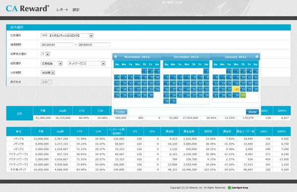 CAリワード、ゲームアプリに特化した課金分析ツールを提供開始