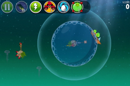 Angry Birdsの宇宙版「Angry Birds Space」、海洋生物保護団体のOceanEldersとコラボ3