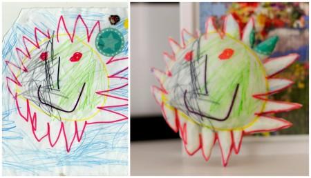 子供の絵を3Dプリンタで立体化しよう!---3Dプリントサービス「Crayon Creatures」3