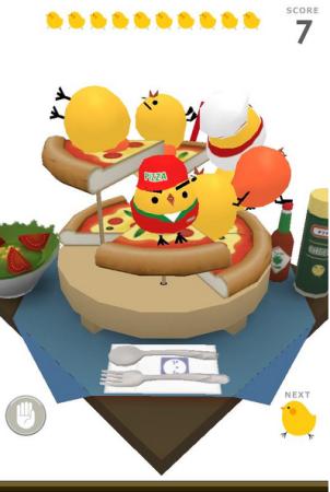 スマホ向けパズルゲーム「ぴよ盛り」、フィギュア付き玩具菓子とキャラクターソックスを発売決定!4