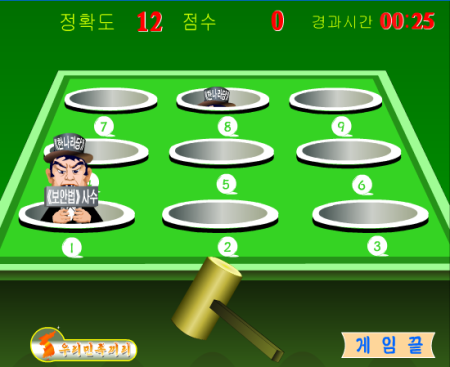 ハエになった安倍首相を叩いてみたり---北朝鮮のプロパガンダ用ブラウザゲーム6