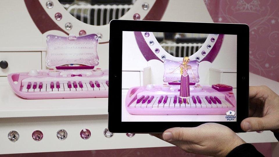 ディズニー、ARアプリ連動型の玩具の開発のため玩具メーカーらと提携1