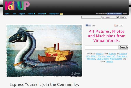 イギリスの3D仮想空間「ExitReality」、ゲームや仮想空間の画像を共有するSNS「koinup」を買収