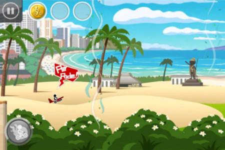 スパイシーソフトのスマホ向けアクションゲーム「チャリ走 DX」、150万ダウンロード突破!2