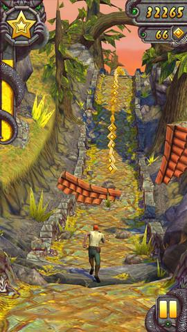 遺跡を駆け抜けるスマホ向けアクションゲーム「Temple Run 2」、リリースから4日で2000万ダウンロード突破!1