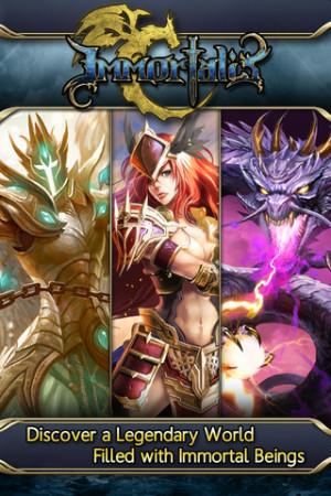 ポケラボとAeria Games、iOS向けソーシャルゲームアプリ「栄光のガーディアンバトル」の海外版「Immortalis」を100ヵ国にてリリース!2