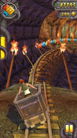 遺跡を駆け抜けるスマホ向けアクションゲーム「Temple Run 2」、リリースから4日で2000万ダウンロード突破!2