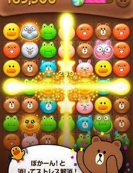LINEゲームの「LINE POP」が2000万ダウンロード突破!「LINE バブル」も1000万ダウンロード