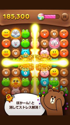 LINEゲームの「LINE POP」が2000万ダウンロード突破!「LINE バブル」も1000万ダウンロード1