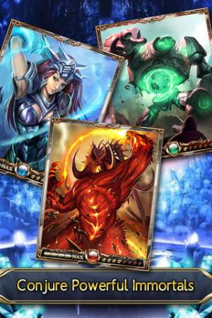ポケラボとAeria Games、iOS向けソーシャルゲームアプリ「栄光のガーディアンバトル」の海外版「Immortalis」を100ヵ国にてリリース!3
