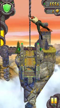遺跡を駆け抜けるスマホ向けアクションゲーム「Temple Run 2」、リリースから4日で2000万ダウンロード突破!3